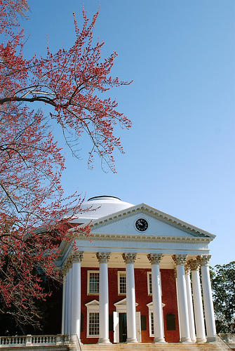 Rotunda at the University of Virginia.