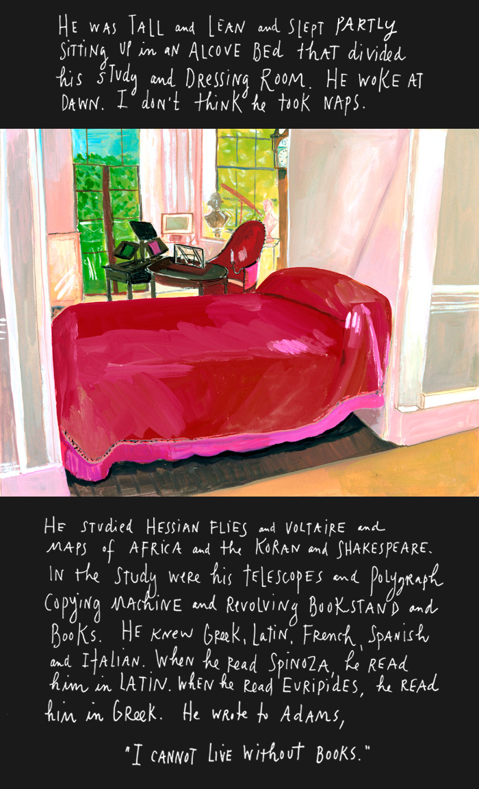 photo and drawing essay on thomas jefferson time wastes too fast photo and drawing essay on thomas jefferson time wastes too fast by maira kalman nyt