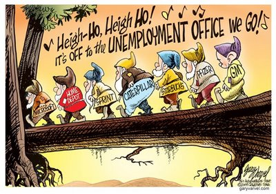 Jobs, Unemployment cartoon