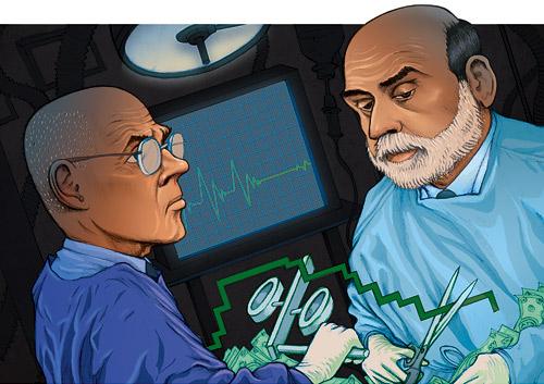 Hank Paulson Ben Bernanke Bailout TARP Cartoon
