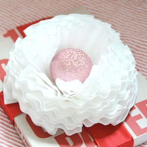 Coffee Filter Gift Topper