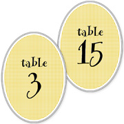 Numbered Table Cards 1-20