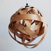 DIY Woven Lamp from Bookhou