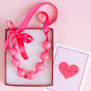 DIY Gumball Necklace from One Charming Party