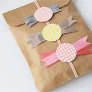 Paper Candy Gift Toppers