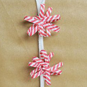 Twistie Tie Pom Pom Gift Toppers from Nice Package