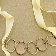 DIY Locket Links Necklace by Janice