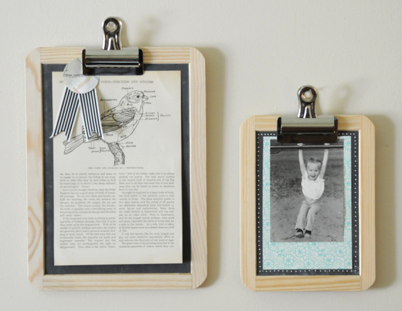 5 Minute DIY: Chalkboard Frames - Home - Creature Comforts - daily ...