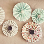 DIY Paper Pinwheels from Style Me Pretty