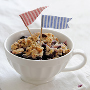 DIY Fabric Dessert Flags