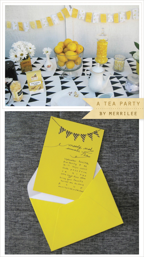 Inspired IdeaA DIY Tea Party by MerrileeHomeCreature