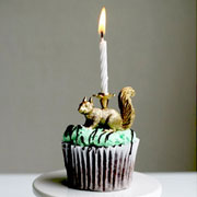 DIY Gilded Party Animal Candle Holders from This is Glamorous