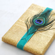 DIY Gift Wrapping for Emily Henderson's The Holiday Guide Magazine