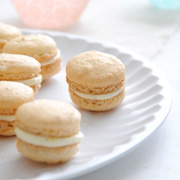 Clementine Macarons with Citrus Cream Filling