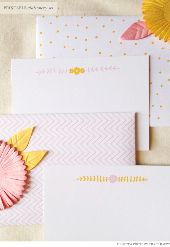 photo relating to Free Printable Stationery identified as Absolutely free Printable Stationery Established against Thats Satisfied - Household