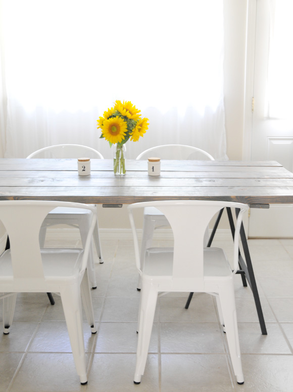This Project Was A Mishmash Of Two Different DIY Table Tutorials That I  Fell In Love With U2014 This DIY Table From Stylizimo And This Version From Our  Vintage ...