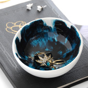 DIY Brushstroke Mini Bowls