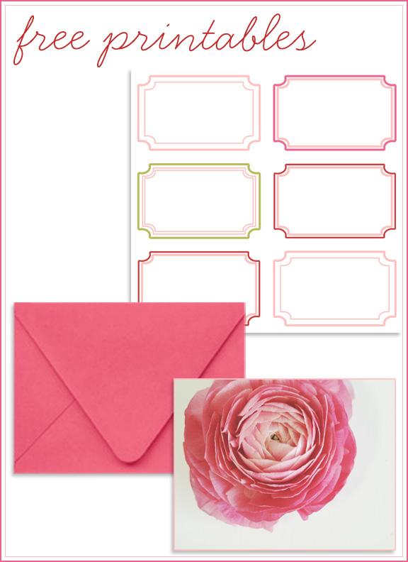 Free Printable Cards U0026 Address Labels  Printable Address Labels Free