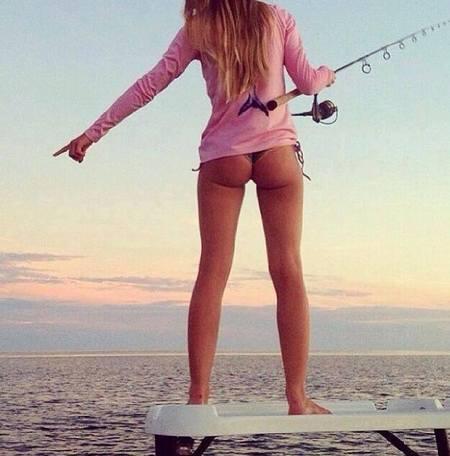 Nude women bass fishing remarkable