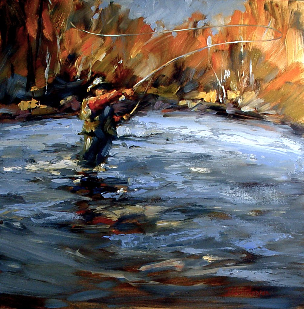 Fly fishing blog photos podcasts travel gear for Paintings of fish