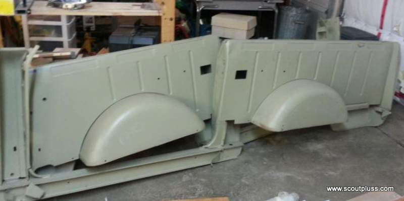 part numbers 395681c2 & 395682c2 collision sides, new and never installed  on a vehicle~! made in a jig as part of a sub-assembly for the scout