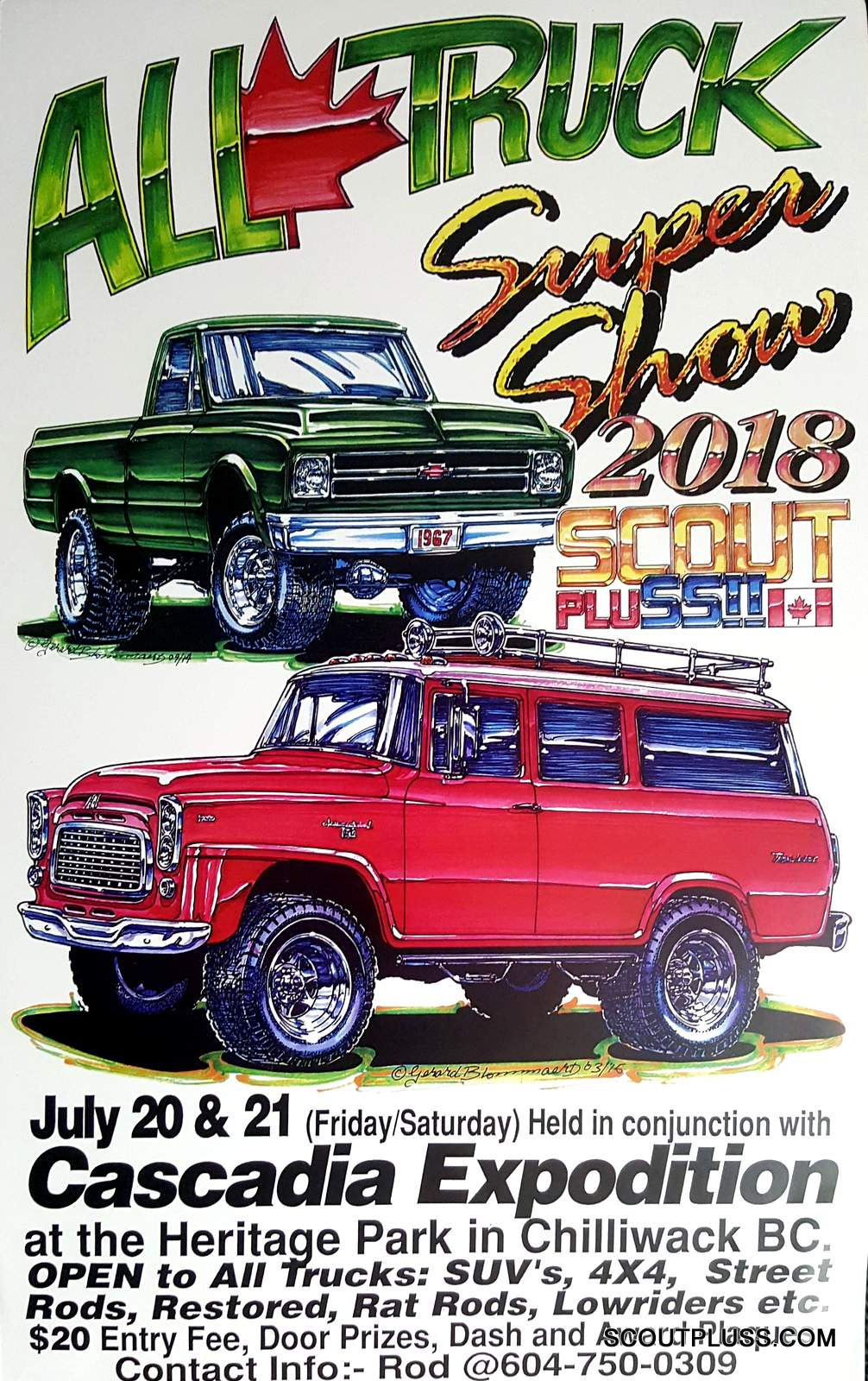 All Truck Super Show on International Scout Body Parts Diagram