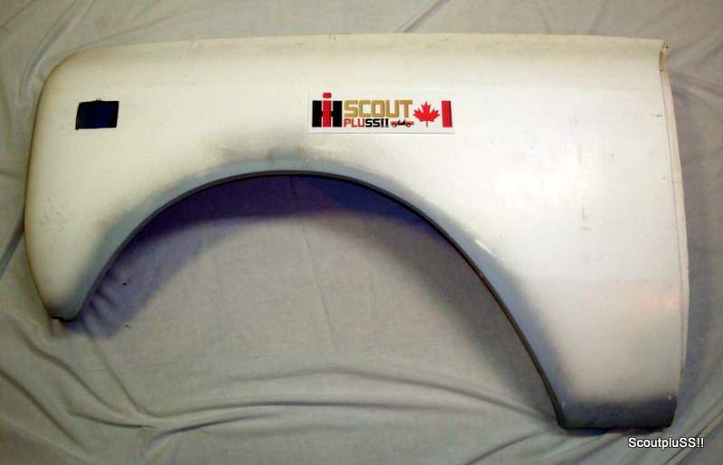 Fiberglass Reproduction Parts Scout Pluss