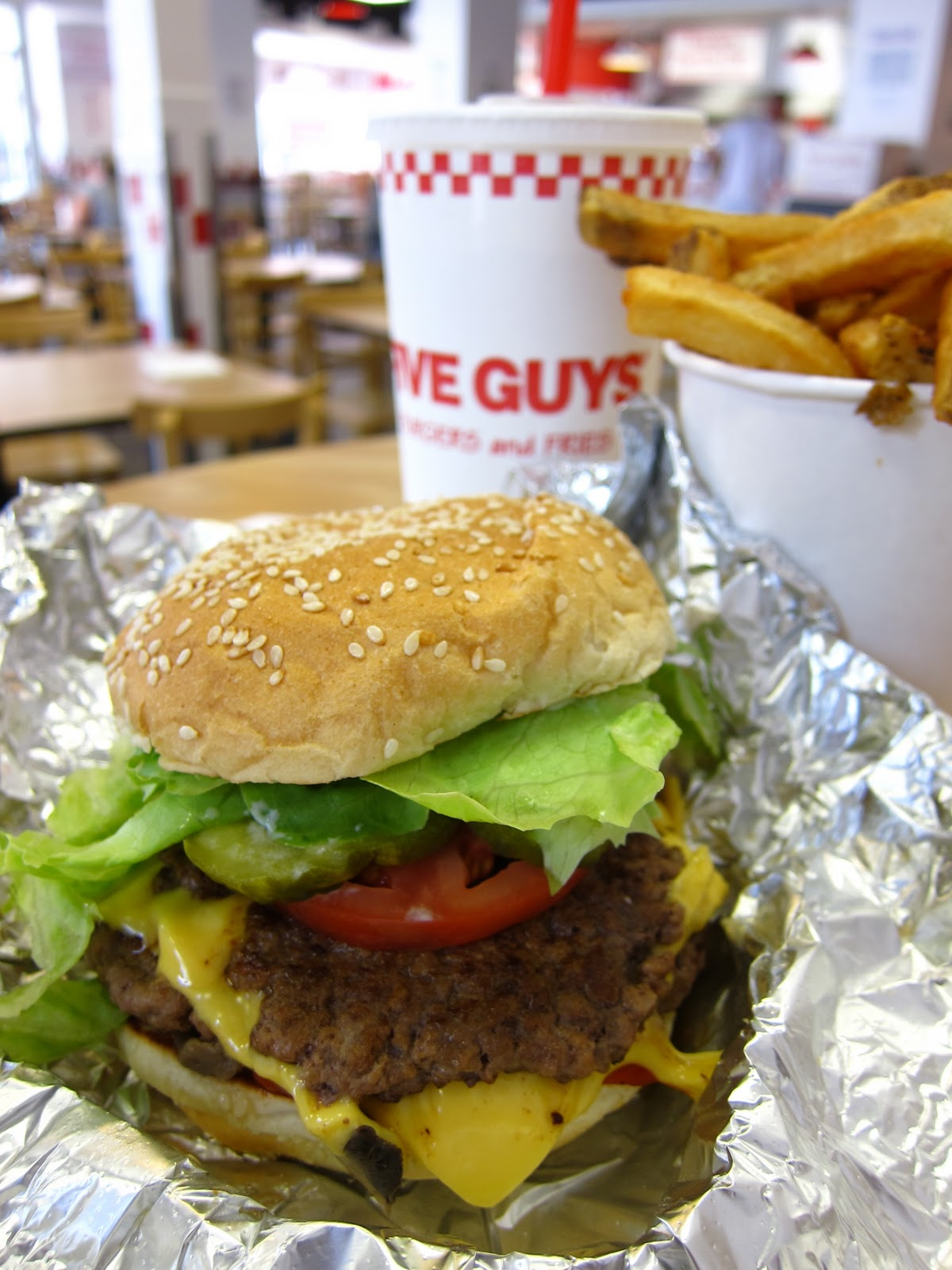 Ed In Park Slope A Brooklyn Blog Home Five Guys Infiltrates Sweetwolfs Wants Your Menu Suggestions