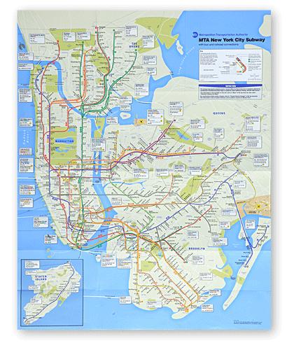 Park Slope Subway Map