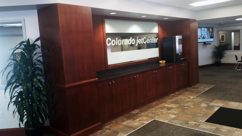 Avfuel Branded FBO, Colorado Jetcenter (KCOS), Wraps Up Interior Design  Project