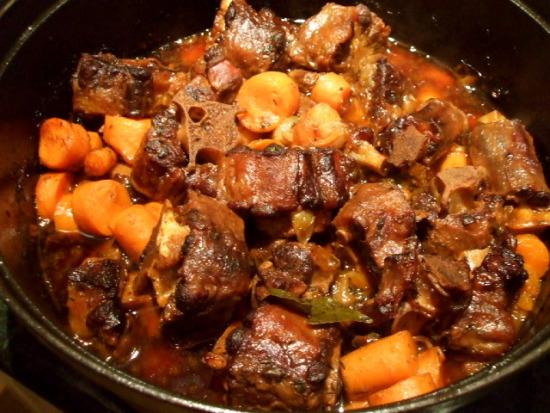 Oxtail Bourguignonne Recipes — Dishmaps