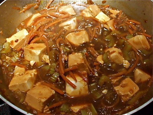 Red Cooking Tofu - The Real Food Blog - Real Food Has Curves