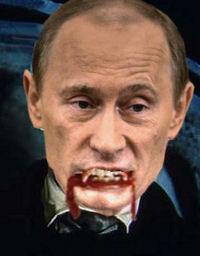 El pobre Dràcula -també anomenat Vlad- no sap com controlar l'ira del seu deixeble, Putin