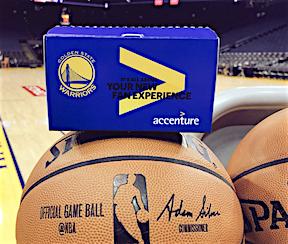 NYSportsJournalism com - NBA's Warriors Add Accenture As