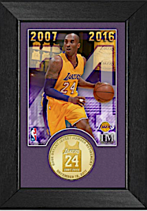 "54b10eae9e2 ... have Bryant's faux signature, five stars (one for each NBA title), his  ""Black Mamba"" nickname and the date of the jersey retirement, December 18,  2017."