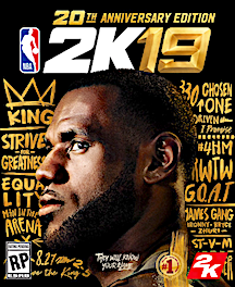 1dcaf1ef4 NYSportsJournalism.com - LeBron Gets Covered By NBA 2K Anniversary ...