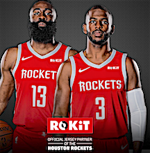 6343933e473 NYSportsJournalism.com - NBA Rockets Sign ROKiT As Jersey Ad Sponsor ...