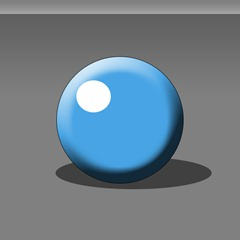 A badly shaded sphere