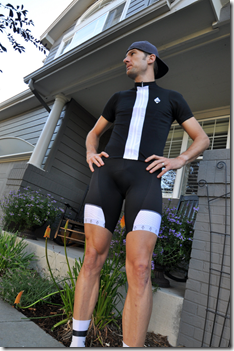 The Eleven jersey and bib by Panache Cyclewear