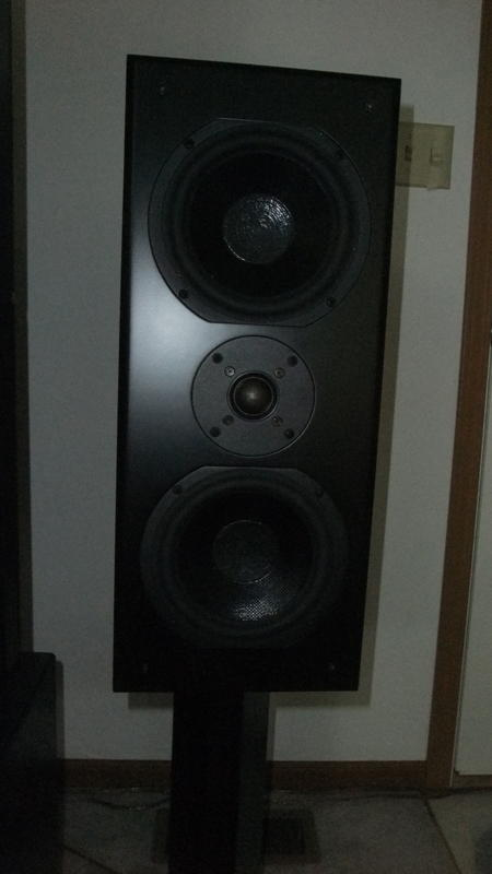 Chris Guebert From Waterloo Il Sent Us An Email Telling That He Was Building His Own Speakers A Kit Bought Parts Express