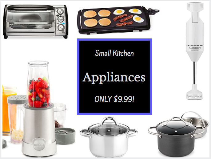 Macy 39 S Hot Small Kitchen Appliances Only After Mail In Rebate Offer Mysweetsavings