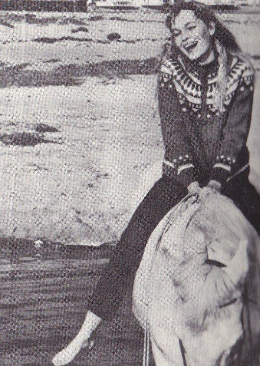 Riding Her Horse Salvador
