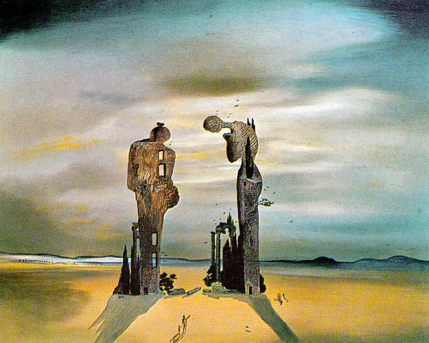 in which salvador dali experiences something of a beatdown home for dali painting is always an applied art an art applied to advancing his own personality