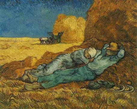vincent van gogh noon rest from work 1890?  SQUARESPACE CACHEVERSION1287673837534
