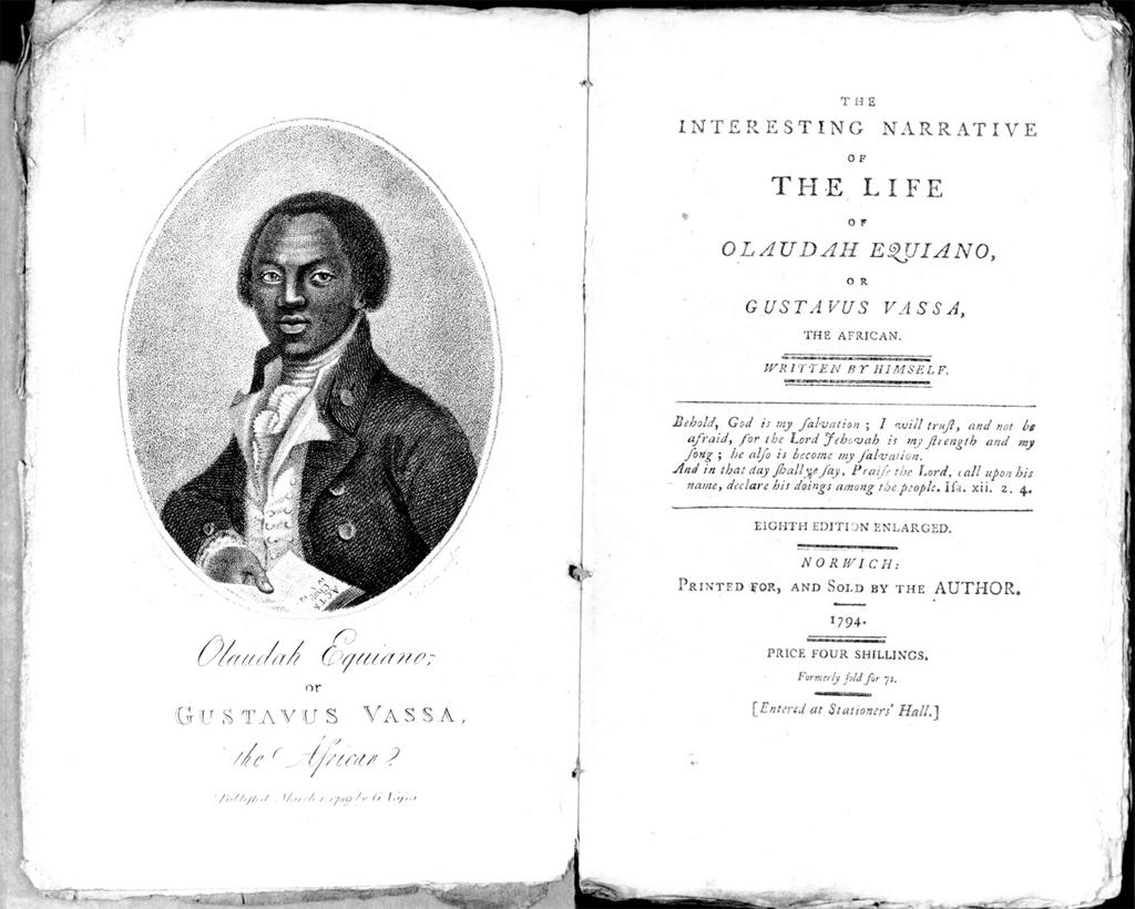 the middle passage by olaudah equiano In discussions of the atlantic slave trade, the term middle passage often arises olaudah equiano, kidnapped as a boy from his homeland in what is today.