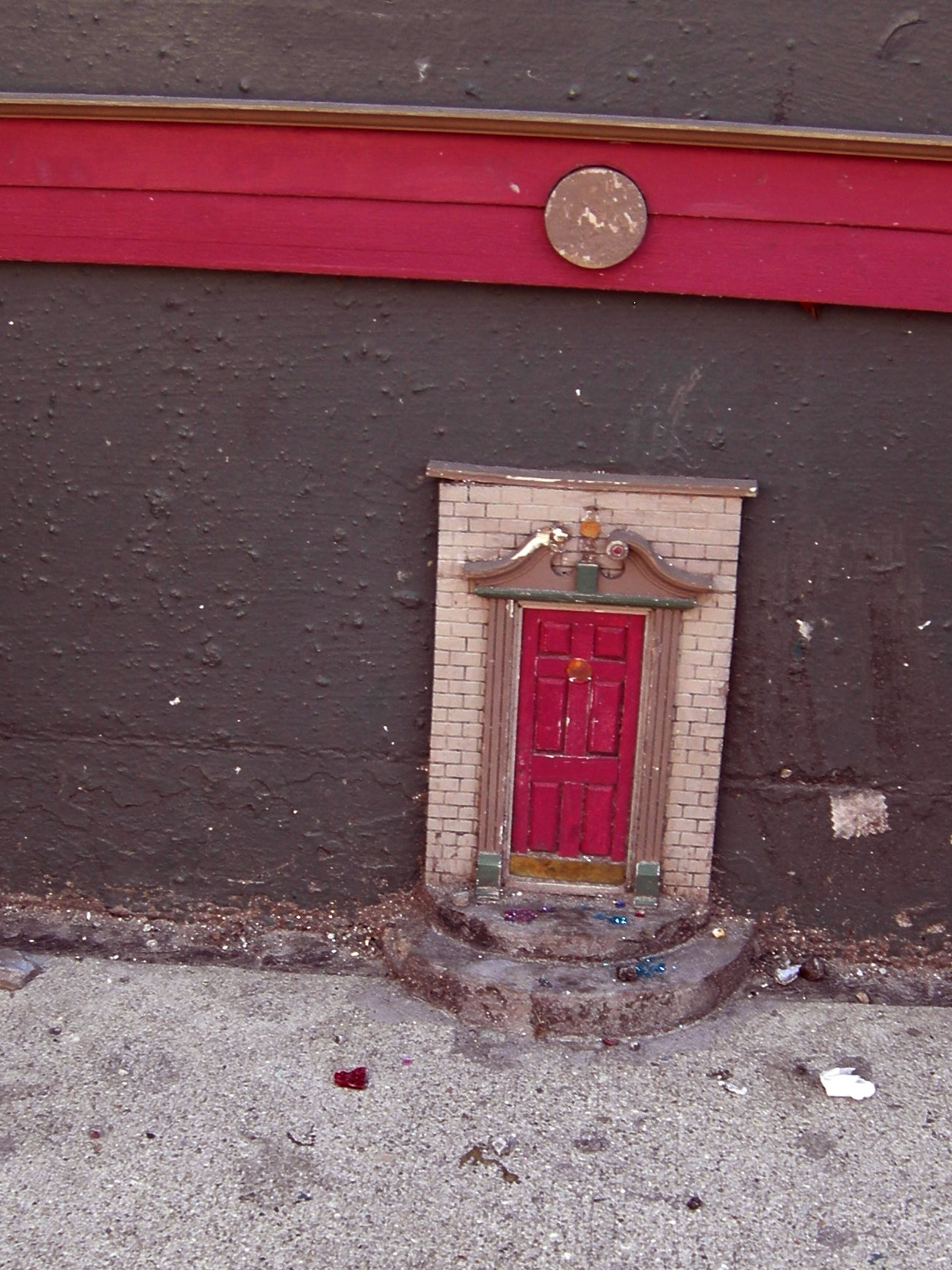 The urban fairy doors of ann arbor detroit moxie for The fairy door
