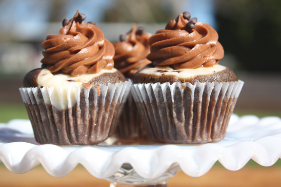 Cake With Icing Baked Inside : chocolate black bottom & brown butter pecan - blog - enjoy ...