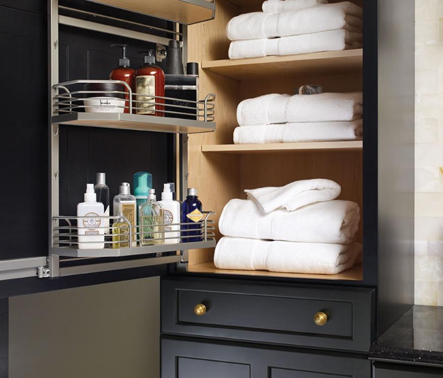 Storage Ideas For Bathroom Vanities