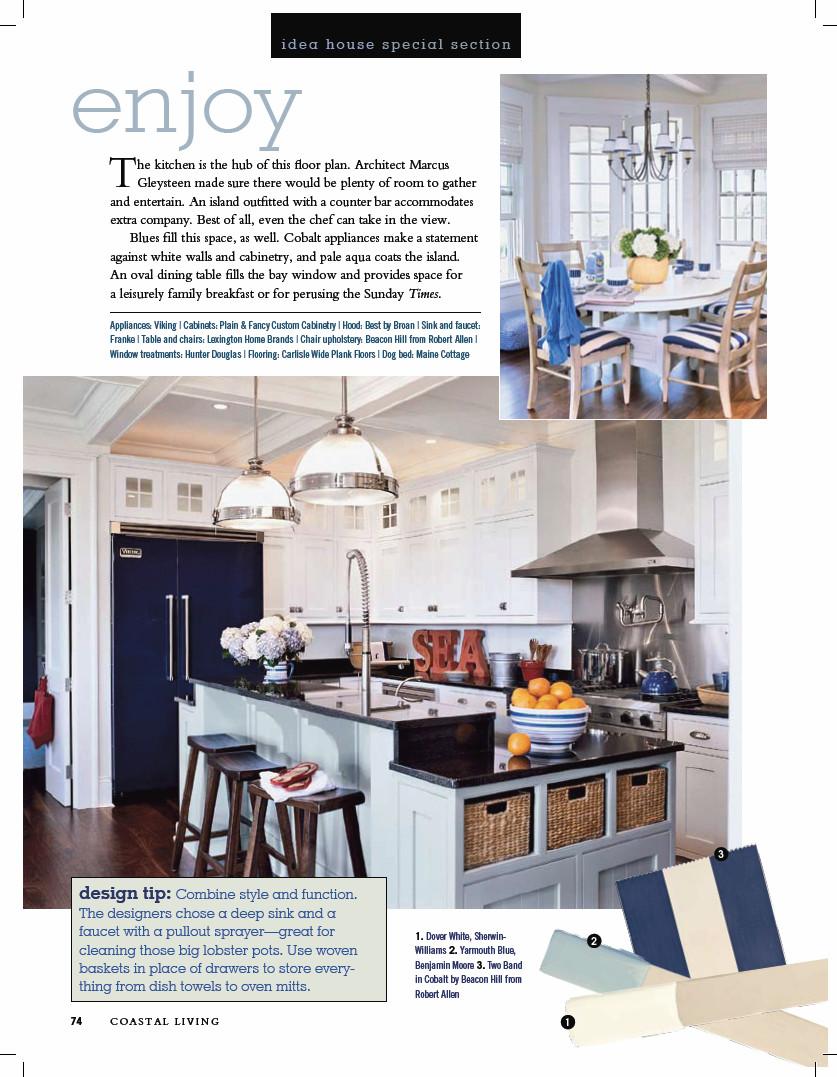 Kitchen Design Yarmouth Maine custom designed kitchens kb details - coastal living showhouse