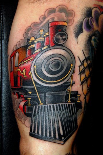 1000 images about train tattoo on pinterest traditional for Jim sylvia unbreakable tattoo